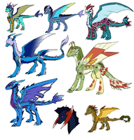 Concept dragons 013 by Eternity9