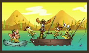Pirates Of The Leaky Lake 2 by DrewBlueberry