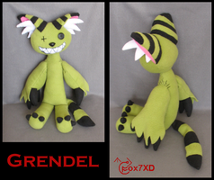 Grendel Plushie by Fox7XD