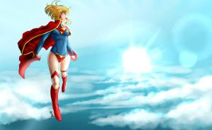 Wallpaper Supergirl News 52 by Erickson777