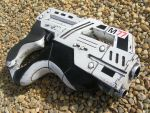 mass effect 3 paladin hand cannon by faustus70