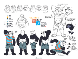 Various degrees of Panda 2013 by super-tuler