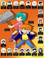 Scott Pilgrim Vs The World by itaiZangetsu