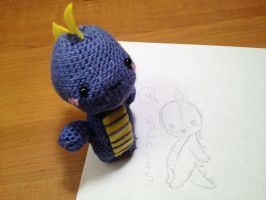Scales the Baby Dragon by SlightInsanity