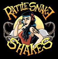 The Rattlesnake Shakes by zombie-you