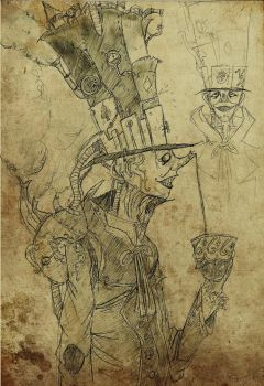 -The Mad Hatter- by leotte803