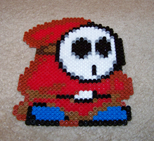 Shy Guy Bead Sprite by PorkyMeansBusiness