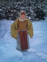 Cold winter in balt costume by strojehistoryczne