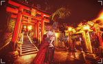 Two different religion in Japan but the same love by DanteDevilKnight