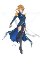 Princess Zelda Mage - copics by OniChild