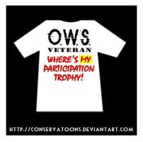 OWS participation T-shirt by Conservatoons