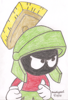 Marvin the Martian by MarioSimpson1