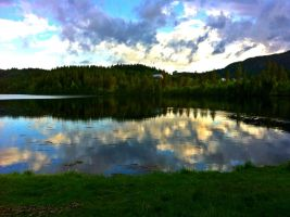 Cloudy Reflection by celli90