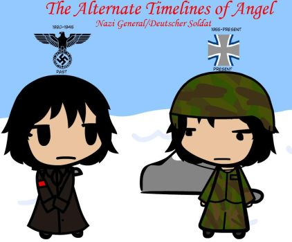 The Alternate Timelines of Angel - past/present by Weasels777