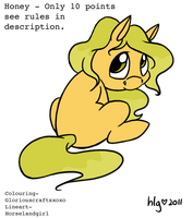.:Adoptable Pony 2 - SALE Only 3 Points:.~CLOSED~ by GloriousCraftsxoxo