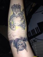 Fable Tattoos - Session 3 - October 2015 by Paynexkiller