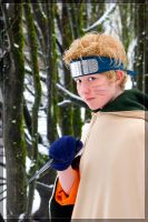 Naruto in the Forest by Weatherstone