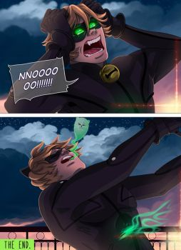 CHAT NOIR page 6 (the end) by Serena-Moretti
