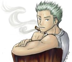 Private Smoker by kinbu
