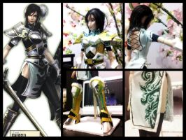 Dynasty Warriors 7 Xing Cai by gale015