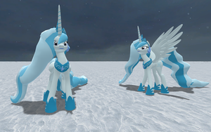 Glacia Princess of Ice by anthroponiegist
