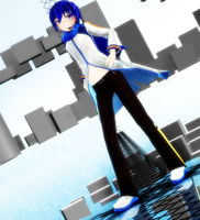 [MMD NC] DL Appearance KAITO by FB-C