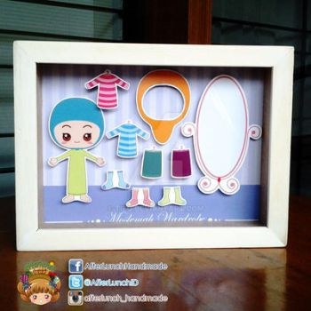Moslemah Wardrobe Pop-up Frame by tieq