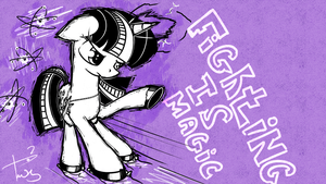 Fighting is Magic by TwilightSquare