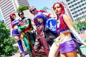 Otakon 2015 - Teen Titans GO!(PS) 34 by VideoGameStupid