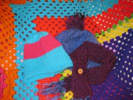 Knit Hats by jesspotter