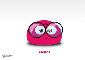 Studing -wallpaper by SaraALMukhaini