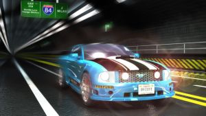 Mustang Tunnel Rush by grico316