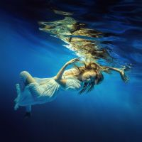 Blue water by fly10