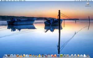 Macbook Pro Desktop 11-18-08 by 1nteresting