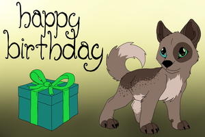 Happy Birthday Mossy by TayMay135