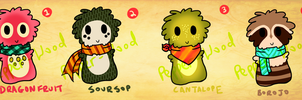 Scarfblob Adopts - Odd Fruit by Pepper-Wood