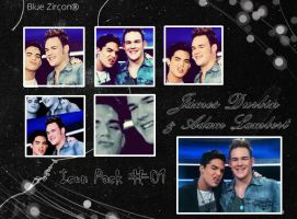 Adam and James Durbin Icons by bluezircon-graphics