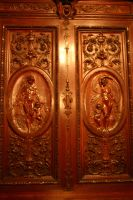 Ornate Wooden Panel by FoxStox