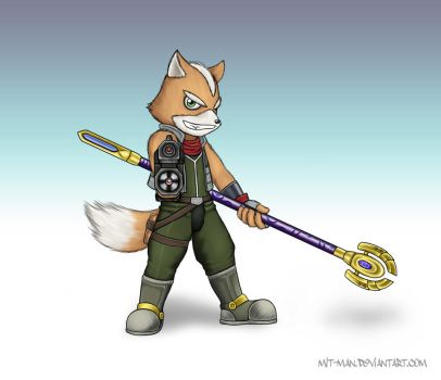 Adventure Fox for Brawl by Mit-Man