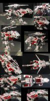 Royal Saix- Lightning Saix repaint by MidnightLiger0