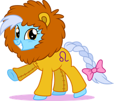 Ponyscopes: Leo the Lion by red-pear
