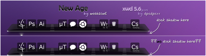 New Age for xwd5.6 port by dpcdpc11