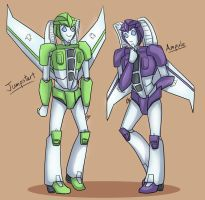 TF OC By Lady M - Ampule and Jumpstart by liliy