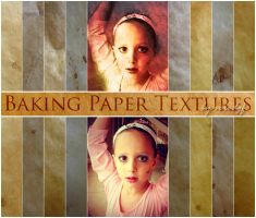More Baking Paper Textures by veredgf
