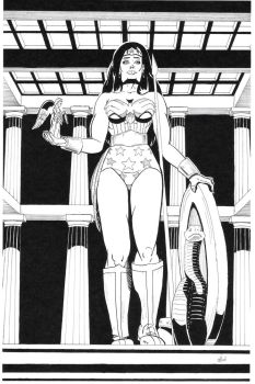Wonder Woman by elBad