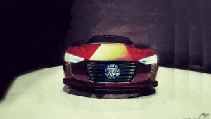 Iron Man Car by padalox