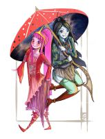 Marceline and Princess Bubblegum by ArtPhish