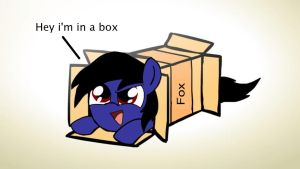 FoxHound in a box by mger47thegamepegasus