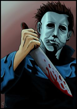 Michael Myers Comic Style by G-Donato