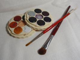 Watercolor Set by GoblinStock